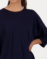 Carmy Pique T-Shirt -  navy
