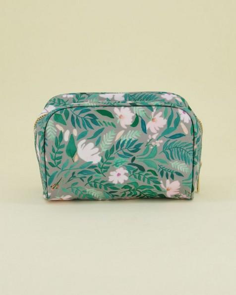 Dahlia Cosmetics Bag -  green