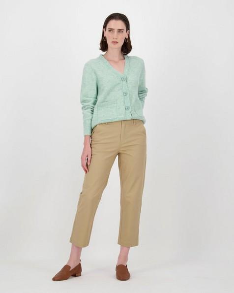 Oakley Straight Leg Pants  -  camel
