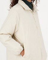 Lola Puffer Jacket -  bone
