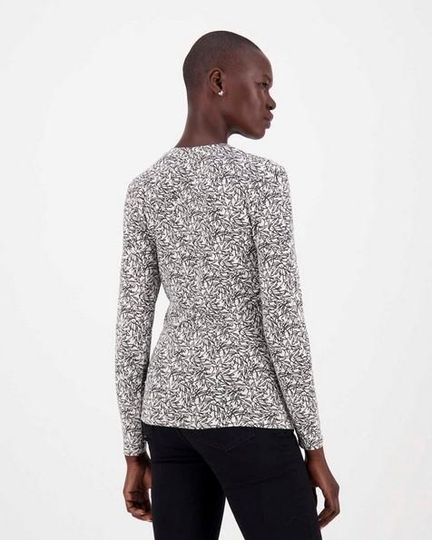 Arlo Knit Top -  white