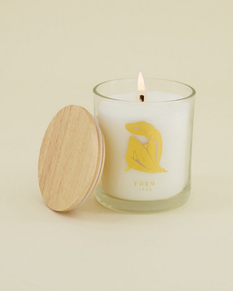 Matisse Form Candle -  blue