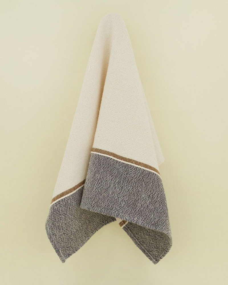 Clay Tea Towel -  milk