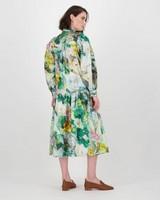 Poetry Abi Printed Dress -  green