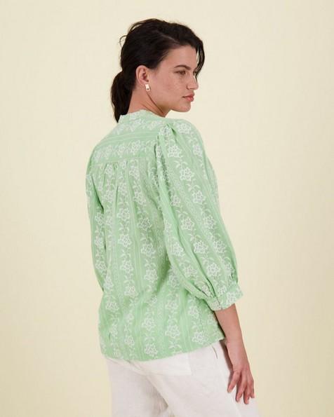 Mara Blouse -  green