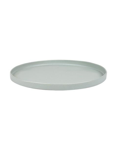 Pret-a-Pot Blom Dinner Plate  -  grey