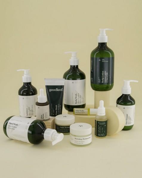 Goodleaf Hemp Face Cleanser -  green