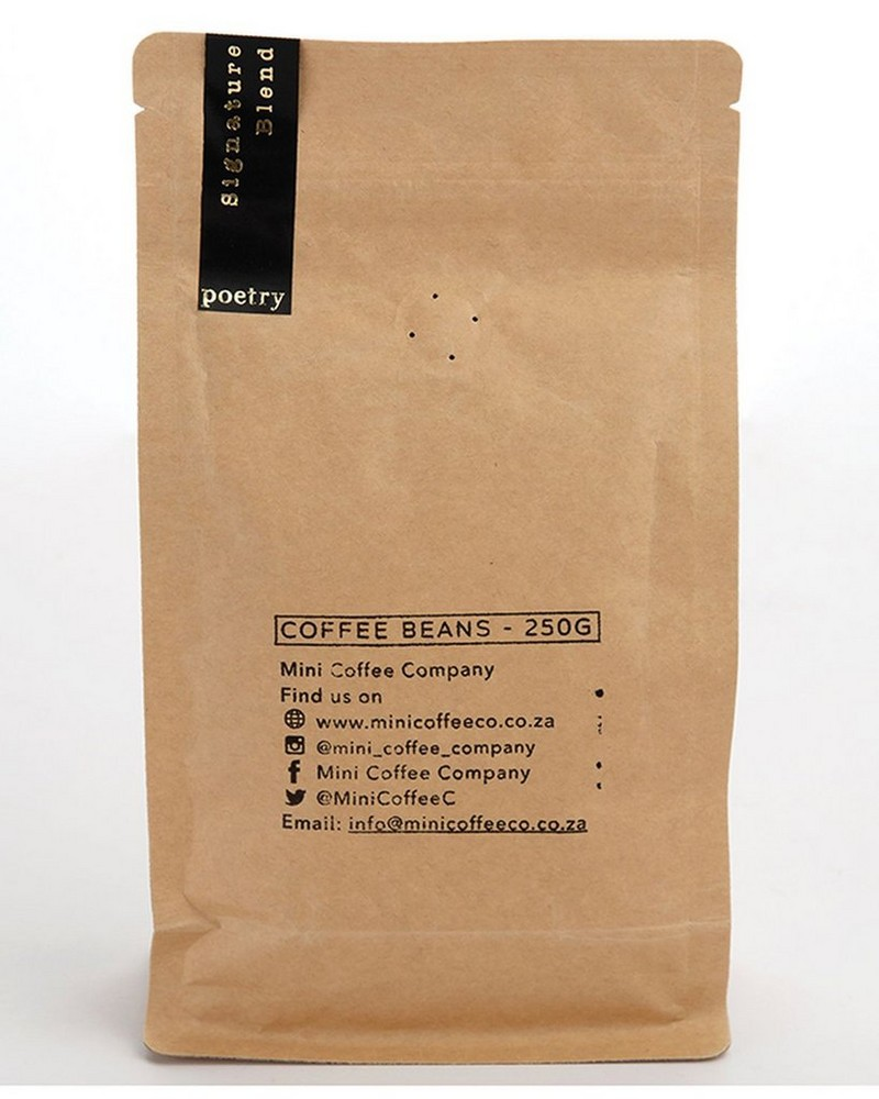 Signature Blend Coffee Beans -  black