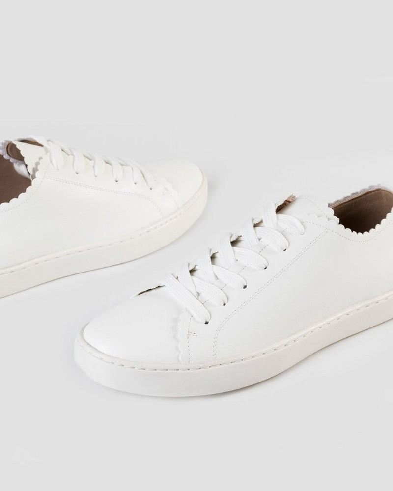 Carli Sneaker  -  white