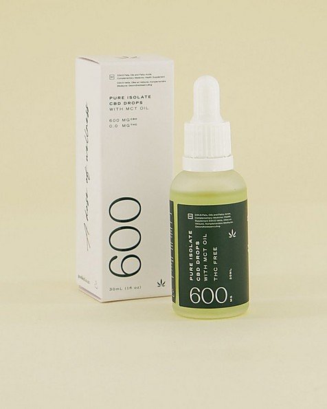 Goodleaf Hemp-Derived CBD Isolate Drops -  green