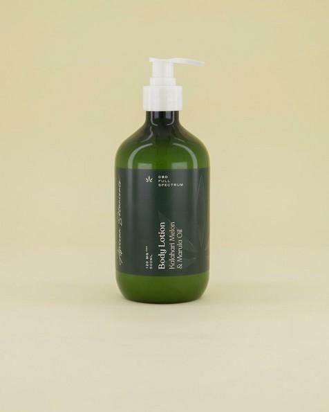 Goodleaf CBD Body Lotion -  green
