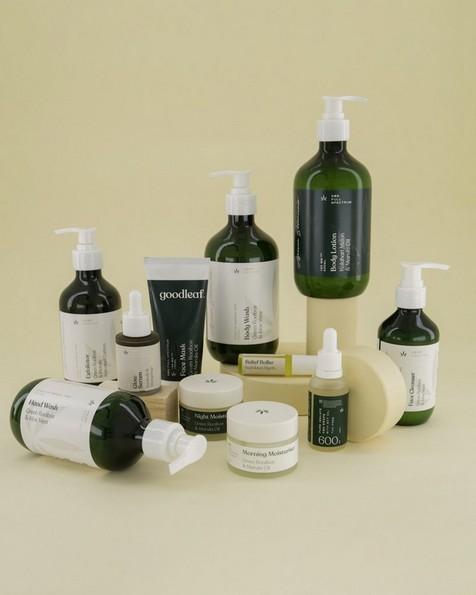Goodleaf Hemp Hand Wash -  green