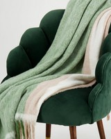Variegated Stripe Throw -  assorted