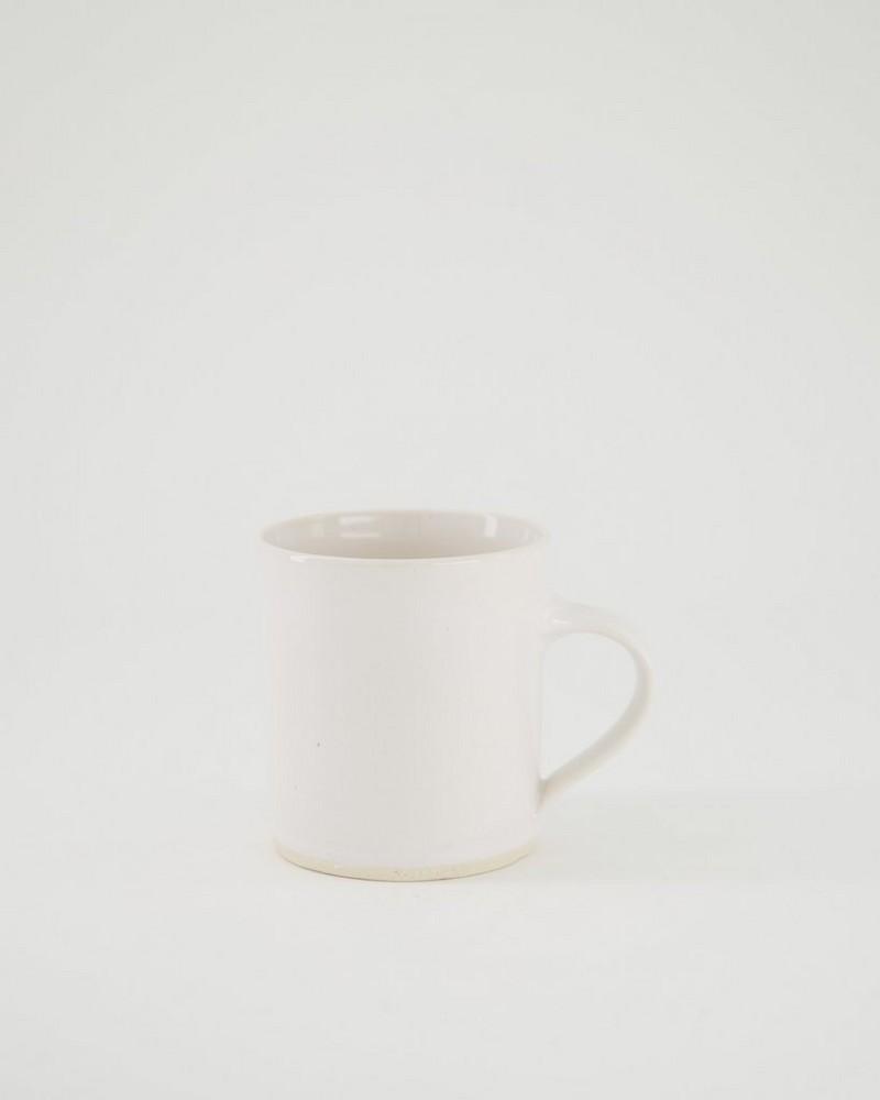 Wonki Ware Oyster Mug -  white