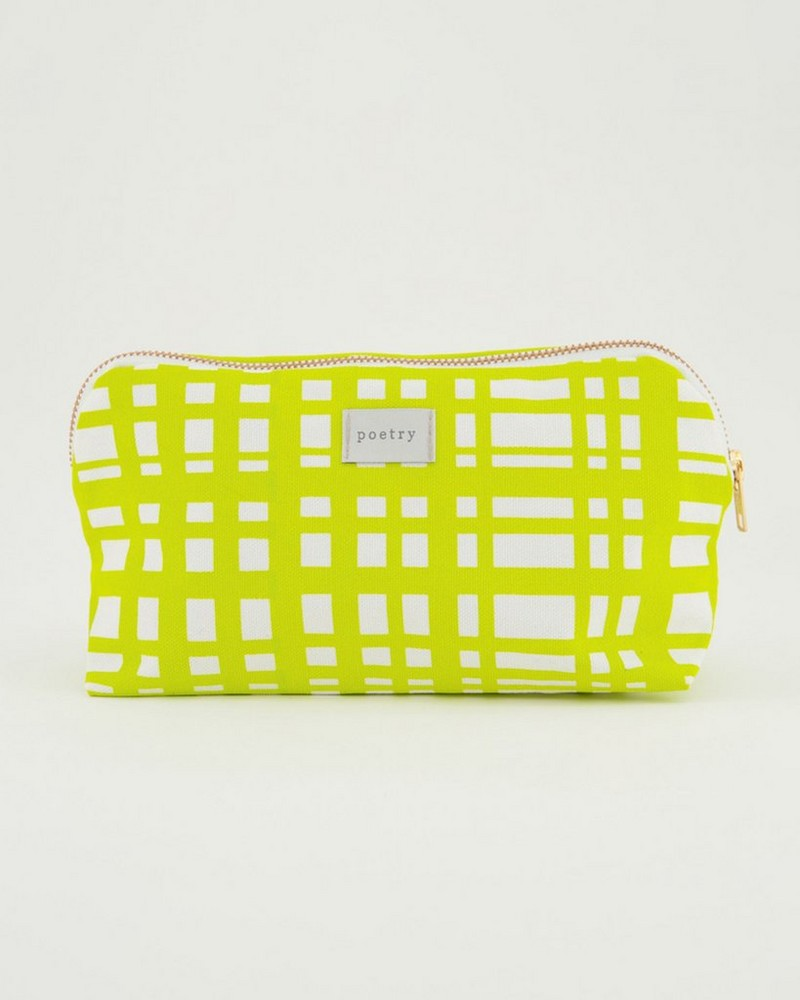 Carmy Cotton Pouch - Small -  assorted