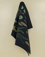 Forest Treasures Tea Towel -  green