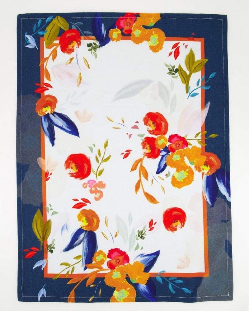 Floral Tea Towel  -  assorted