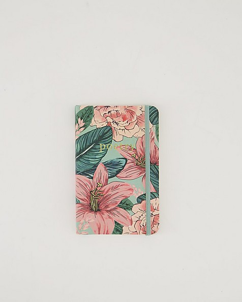 Oversized Floral Notebook  -  assorted