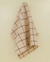 Grid Tea Towel (Two-Pack) -  green