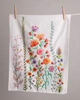 Amelia Floral Tea Towel -  assorted