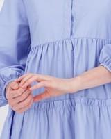 Avery A-Line Dress -  midblue
