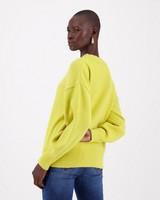 Tori Knitwear -  chartreuse