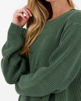 Poetry June Knitwear -  green
