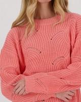 Leighton Jumper -  peach