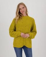 Leighton Jumper -  chartreuse