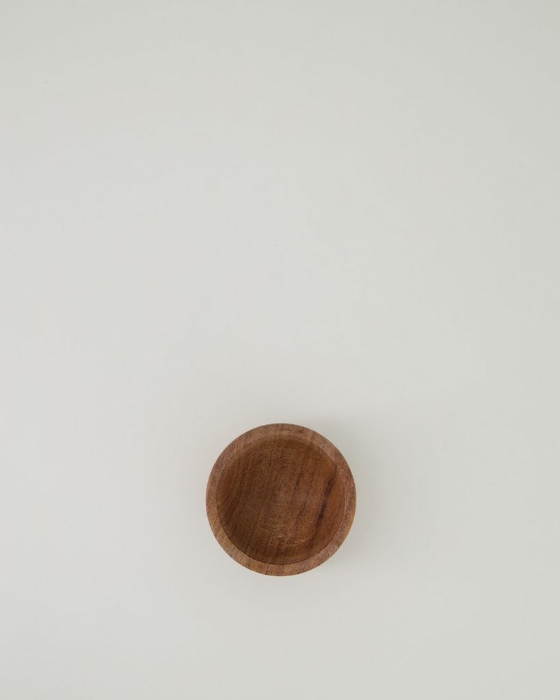 Wooden Tapas Bowl -  brown