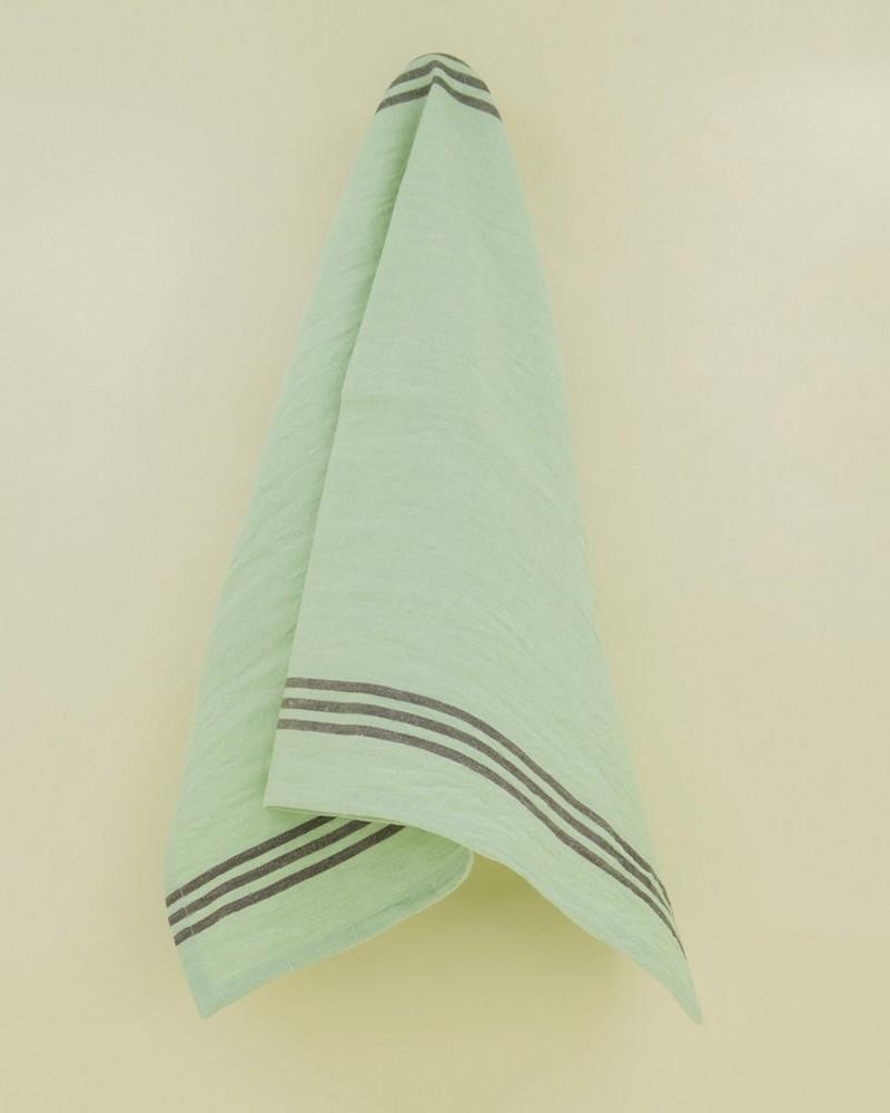 Farmhouse Tea Towel -  sage