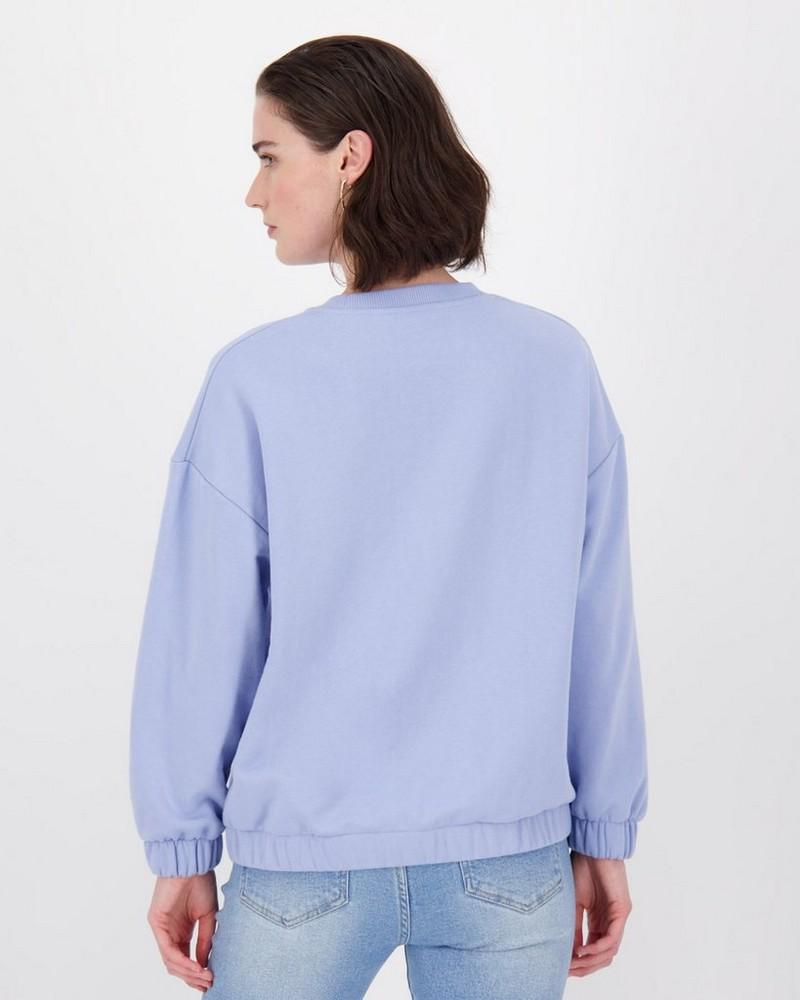 Moss Sweater -  blue