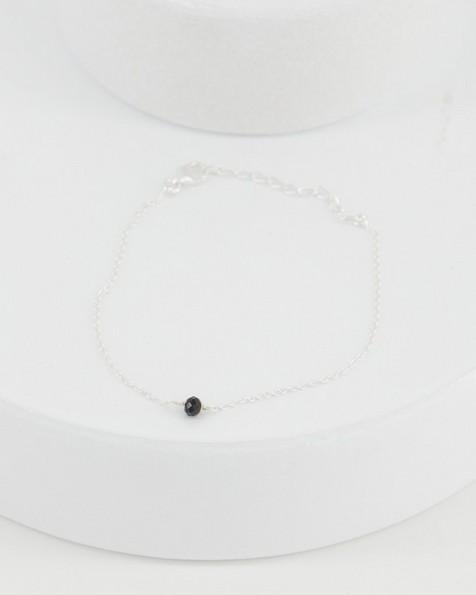 Black Onyx Bracelet -  black