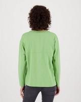 Bella Slub T-Shirt -  green
