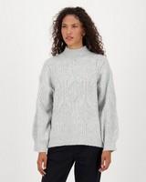 Millie Knitwear -  grey
