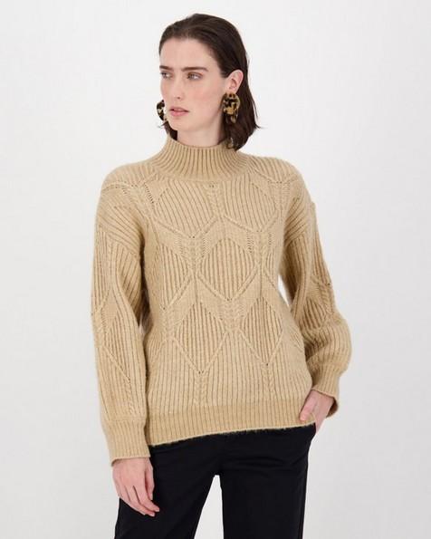 Millie Knitwear -  oatmeal