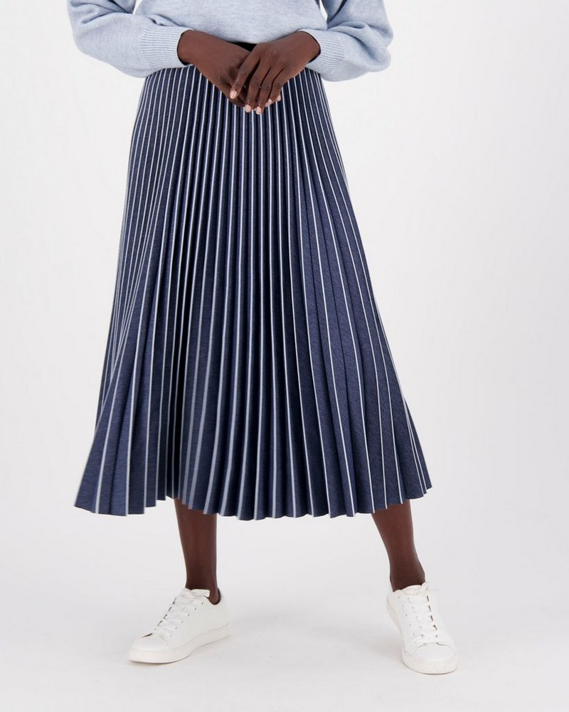 Lila Skirt -  indigo