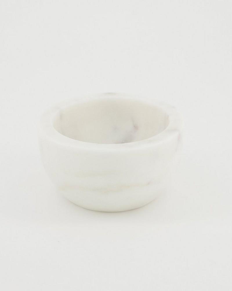 Marble Tapas Bowl -  lightgrey