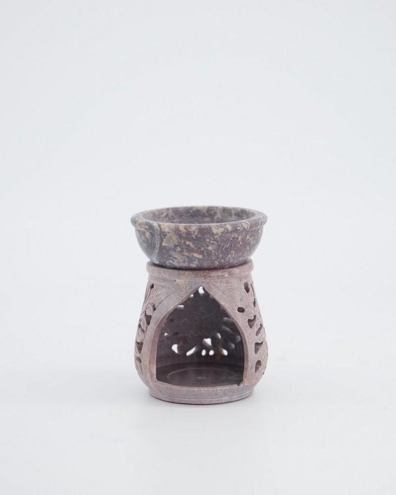 Bloom Oil Burner -  pewter