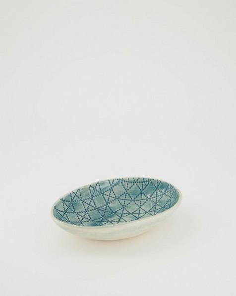 Wonki Ware Small Etosha Bowl -  teal