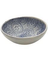 Wonki Ware Salt Bowl -  blue