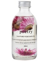 Samphire Posie Petal Bath Oil -  pink