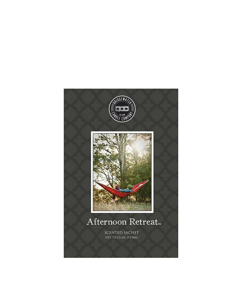 Afternoon Retreat Sachet -  charcoal