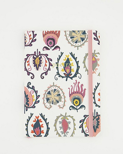 Abstract Floral Notebook  -  assorted