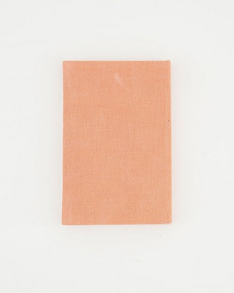 The Creative Linen Covered Notebook -  pink