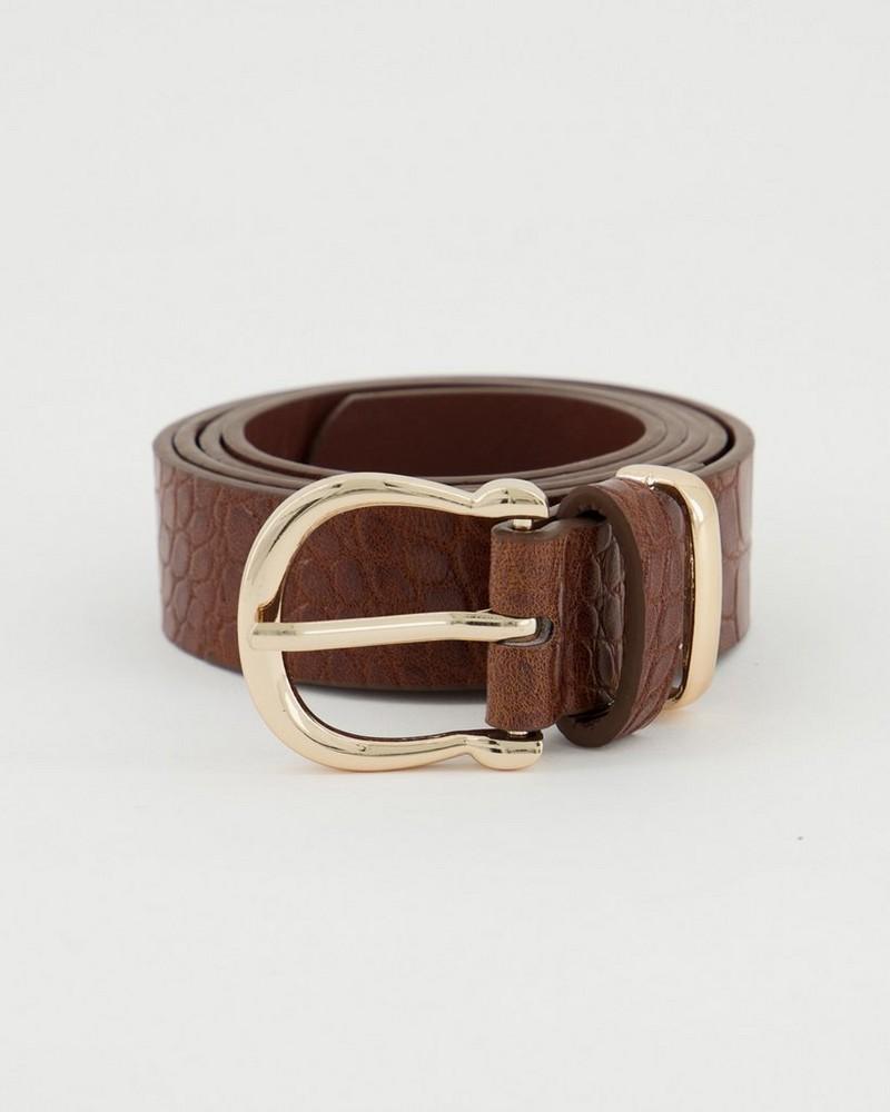 Lerato Formal Belt -  brown