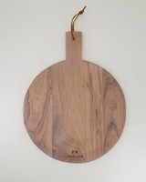 Round Wood Paddle Board -  brown