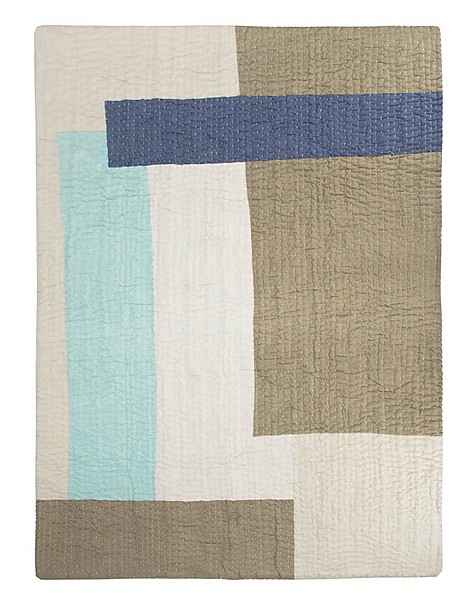 Coulourblock Quilt -  assorted