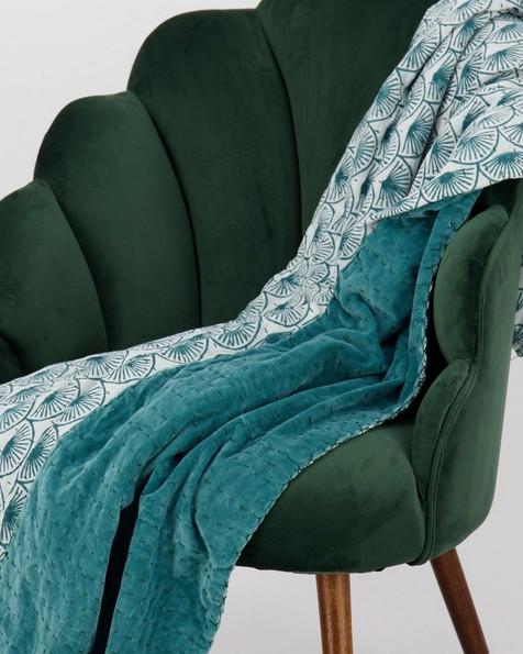 Velvet Backed Indian Quilt -  assorted