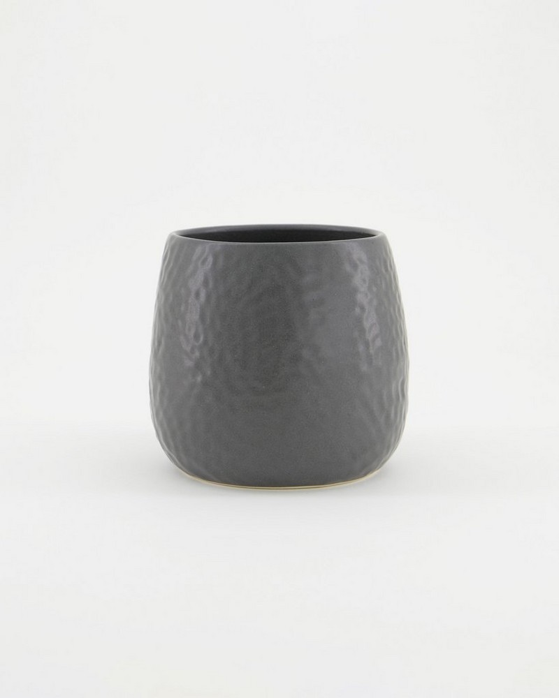 Pret-a-Pot Small Honeycomb Planter -  graphite